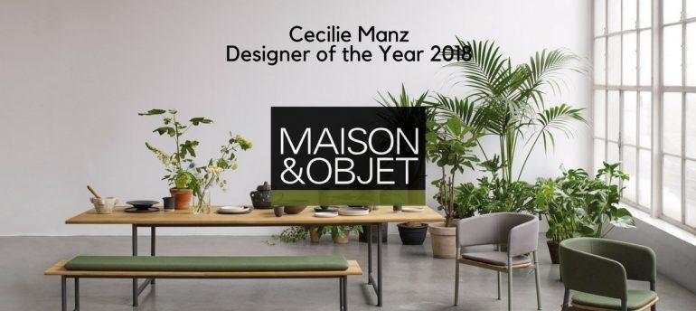 Let\'s Meet The Designer of The Year Maison et Objet 2018: Cecilie ...