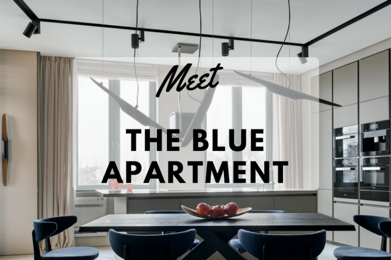 The Blue Apartment_ A Trendy Apartment By The Baltic