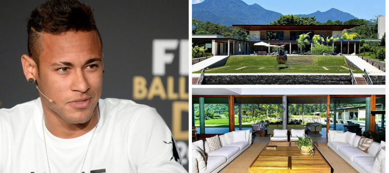 House Tour _ Get Lost In This World Cup Player's Mansion!