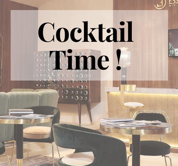 Cocktail Hour at Maison et Objet Paris! Find Out All The Scoop!