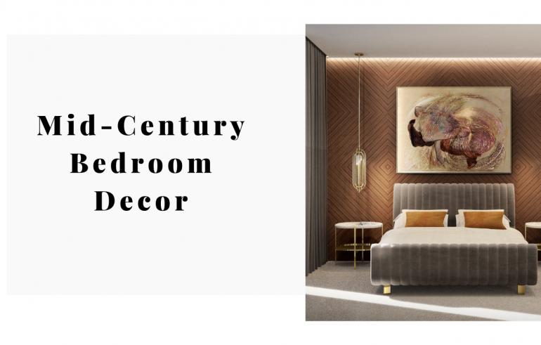 Mid-Century Bedroom Decor