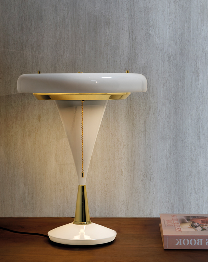 A DelightFULL Novelty Mid-Century Table Lamp You'll Love 4