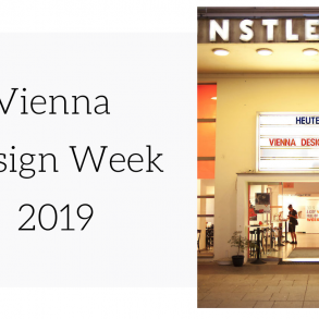 Vienna Design Week 2019
