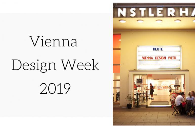 Vienna Design Week 2019