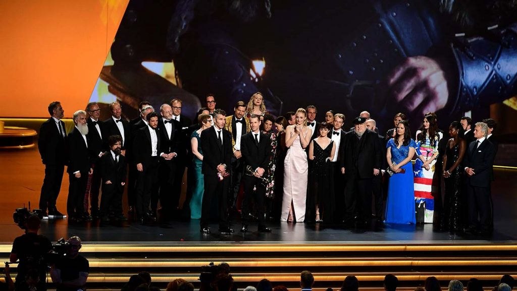 Game of thrones cast emmys 2019