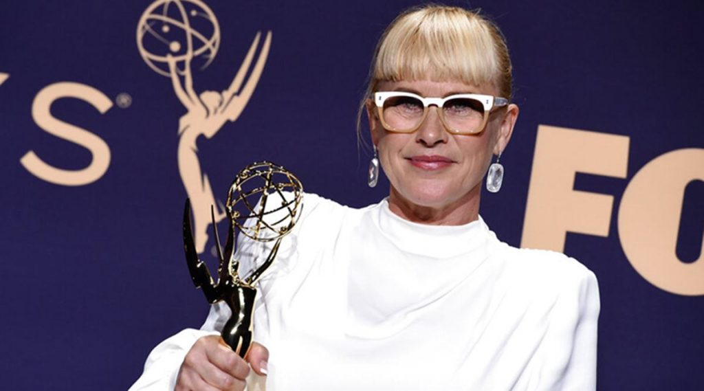 "Supporting Actress, Limited Series or Movie: Patricia Arquette, ""The Act"""