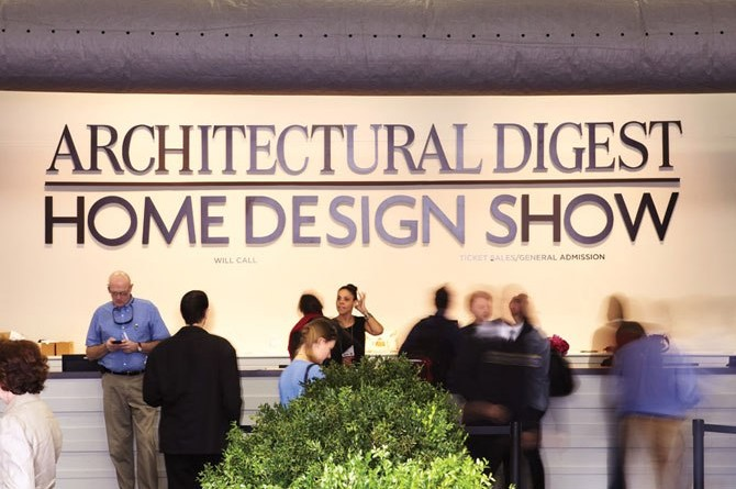Arch digest show 2015 is coming tomorrow for Architectural digest show