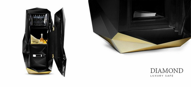 The best Luxury Safes from Boca do Lobo – Exclusive Design