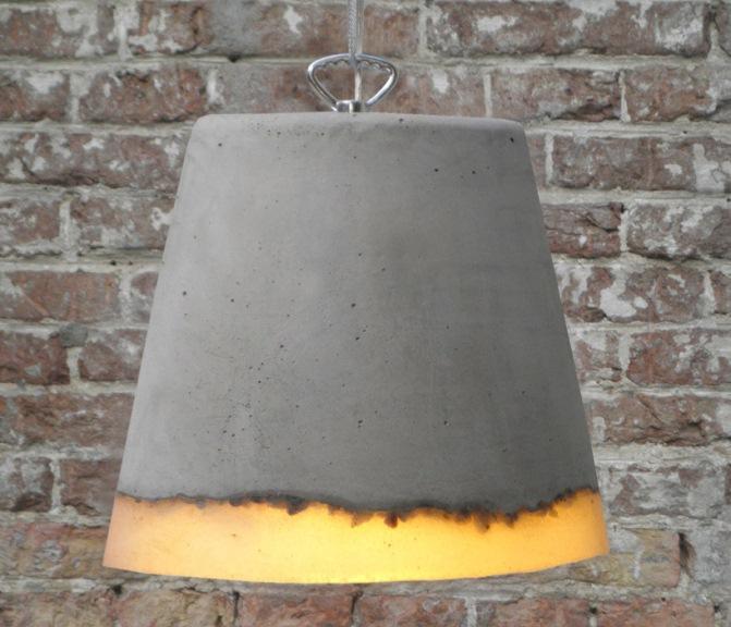 grey suspension lamp