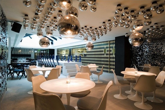 circus project 5 best projects with suspension lighting by Tom Dixon