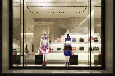 ALEXANDER MCQUEEN FIRST FLAGSHIP BOUTIQUE IN JAPAN