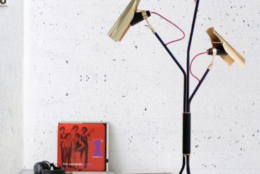 LIVING ROOM IDEAS: INDUSTRIAL LIGHTING