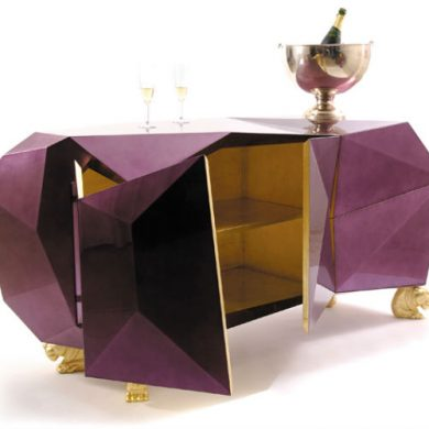 10 Contemporary diamond furniture inspiration pieces