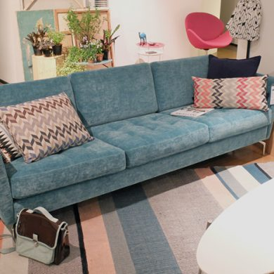 2015 modern living room furniture trend 5 velvet sofa