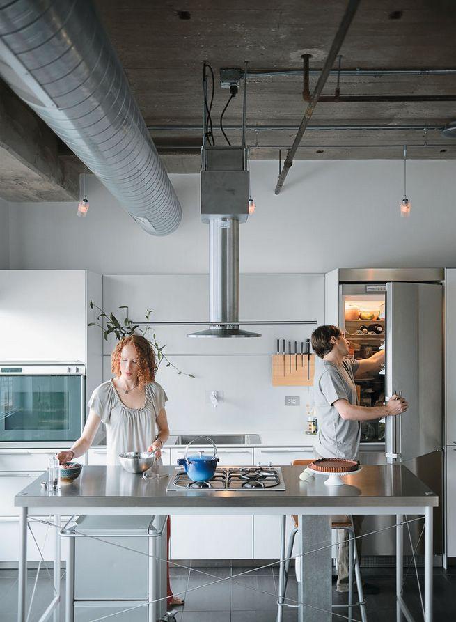 6 Super Industrial Kitchens