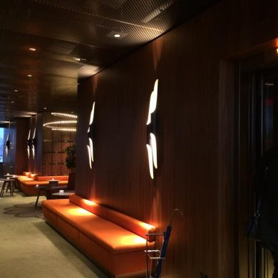 George Bar & Grill: inspiring lighting