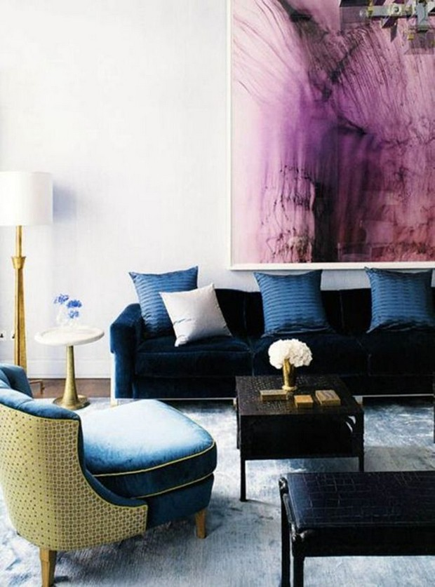 Modern rooms inspirations by David Collins