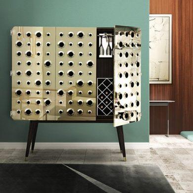 Mid century modern cabinets