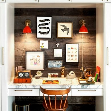 Mid century modern office design ideas3