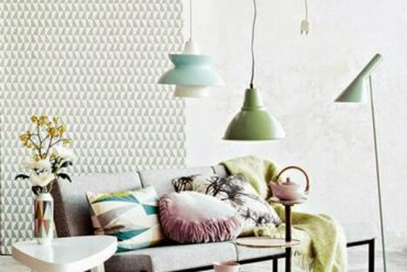 Learn how to decorate with pastel colors floor lamps