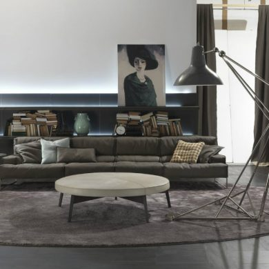 INSPIRING CONTEMPORARY FLOOR LAMPS FOR A LIVING ROOM