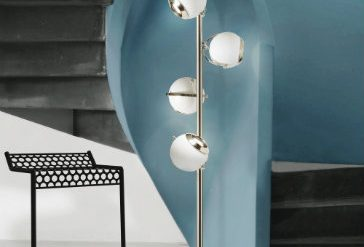 SPRING TRENDS INSPIRATIONS: NICKEL FLOOR LAMPS