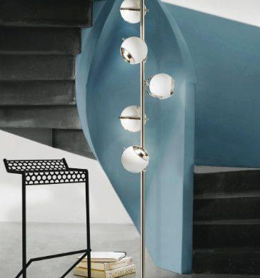 SPRING TRENDS INSPIRATIONS: NICKEL FLOOR LAMPS