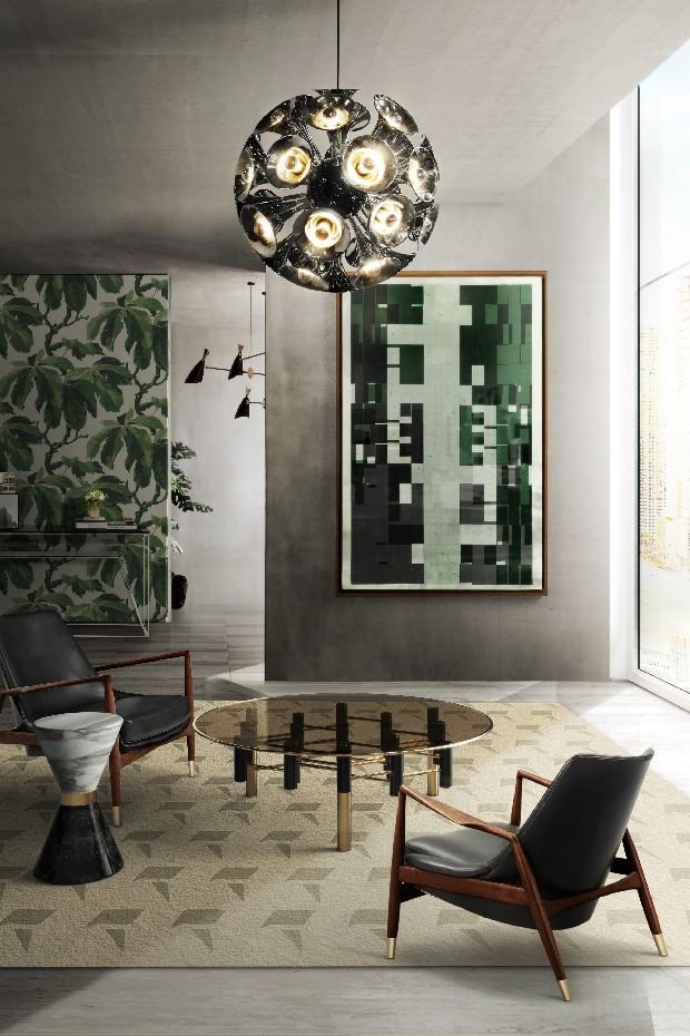 Warm living room inspirations summer colors (8)