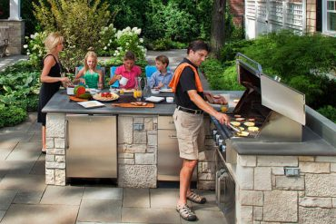 COOL OUTDOOR KITCHEN DESIGN IDEAS