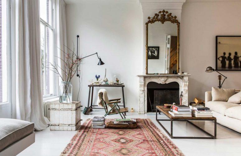 Inspiring vintage modern mansion in amsterdam