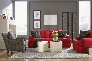 INSPIRING COLORS: HOW TO DECORATE THE HOUSE WITH WHITE AND RED