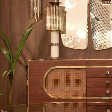 Mid-century modern inspirations directly from Maison et Objet Paris