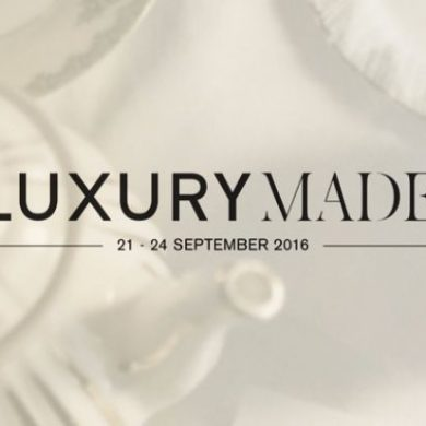 LUXURYMADE is LONDON DESIGN FESTIVAL'S NEW DECORATIVE INTERIORS SHOW