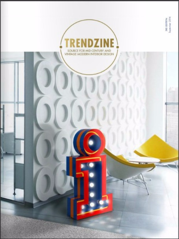 TRENDZINE 3rd Edition: The Best Source for Mid-Century Inspiration