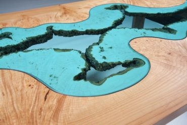 Inspiring Coffee Tables Designed to Look Like Ethereal Rivers