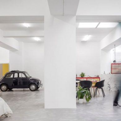 HOME MAKEOVER: A GARAGE TURNED INTO A PERFECT HOME FOR YOUNG COUPLE