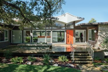 MODERN MAKEOVER IN A MID-CENTURY HOME IN AUSTIN, TEXAS
