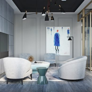 This Flat in Moscow Is a Luxury Mid-Century Design Paradise_1