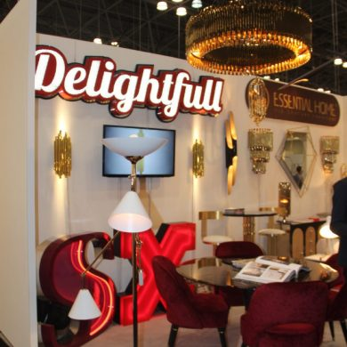 ICFF NEW YORK TELLS YOU WHAT'S NEW IN THE HIGH-END FURNITURE WORLD!