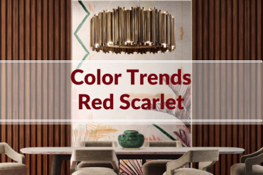 Color Trends: How to Use Modern Lamps to Decorate with Red Scarlet