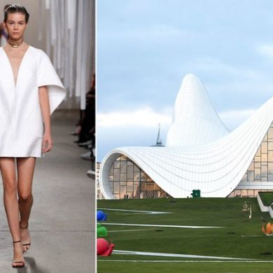 9 Fashion Designers Reveal They Architecture Inspiration