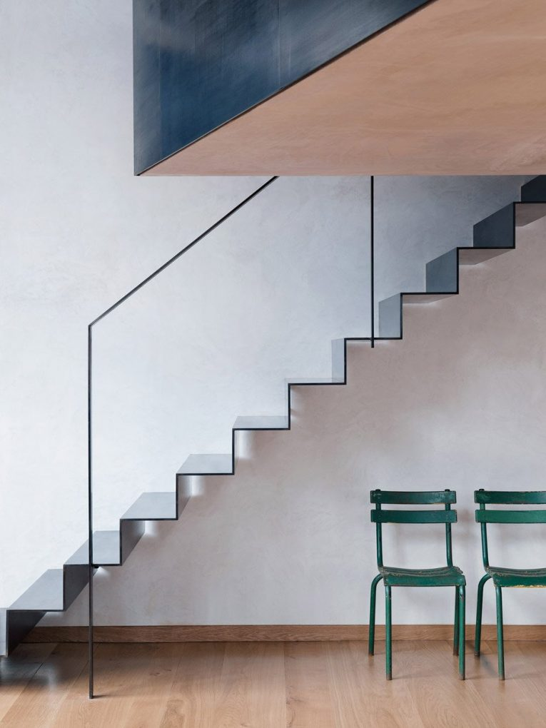 Discover this London Loft Ladders With Industrial Style