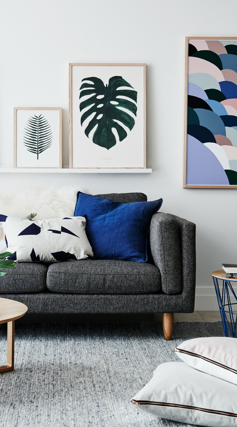 What's Hot on Pinterest 5 Scandinavian Living Rooms Ideas 1 (2)
