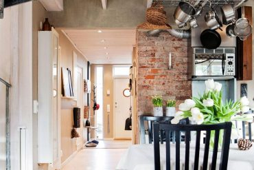 Inspiring Industrial Interiors That Features Exposed Brick Walls 3