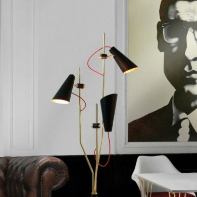 Trending Product A Mid-Century Modern Floor Lamp