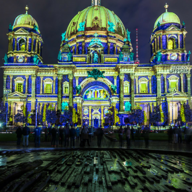 Berlin Lights Up the Sky with Festival of Lights FEAT
