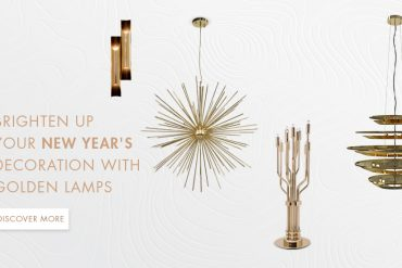 Brighten Up Your New Year's Decorations with Unique Golden Lamps