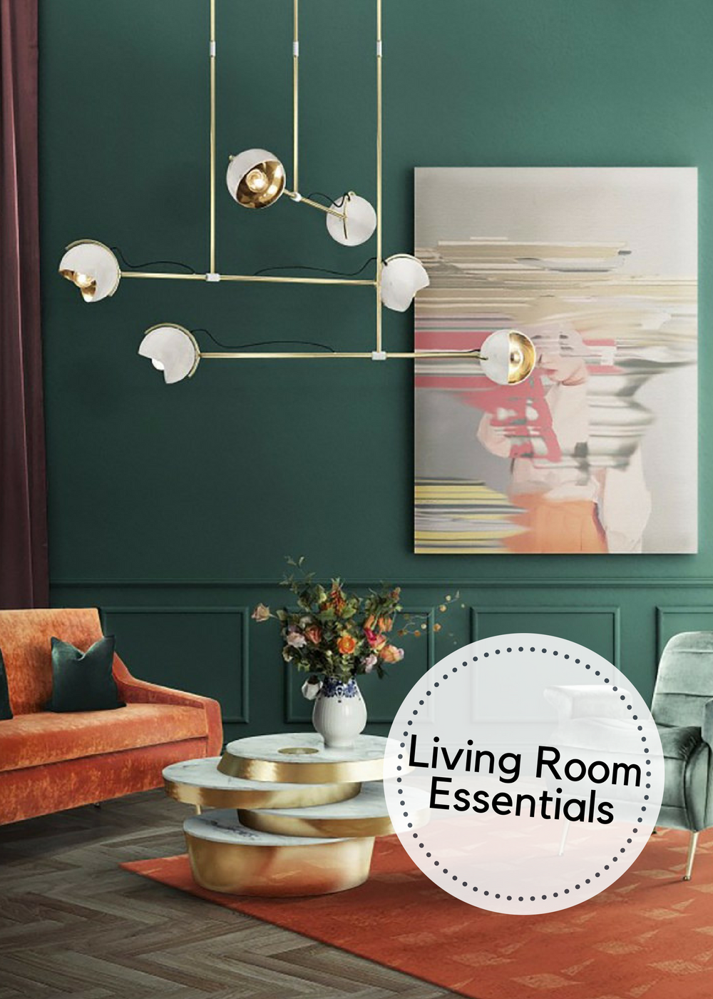 Essential Living Room Chandeliers for Your Mid-Century Modern Home feat