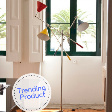 Trending Product_ A Three-Arm Floor Lamp with a Modern Twist FEAT
