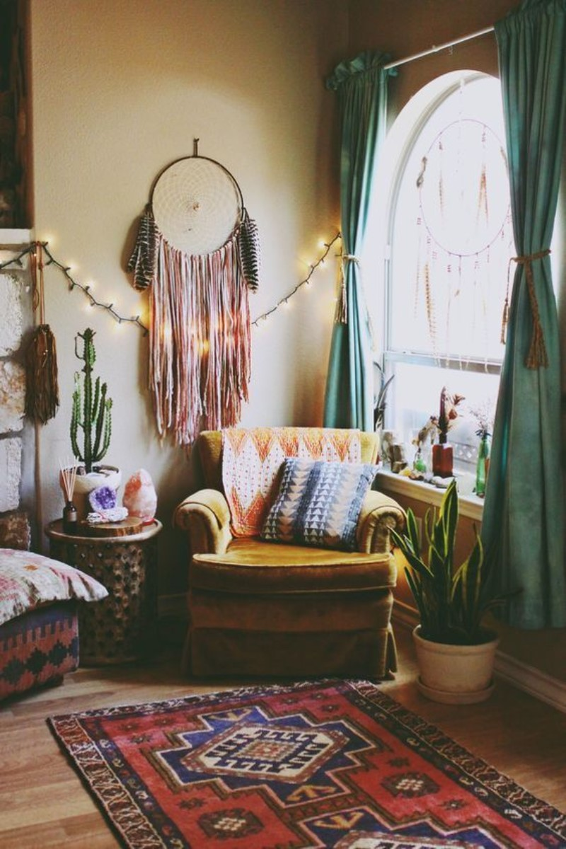 What Is Hot On Pinterest 5 Top Boho Bedroom Décor 3